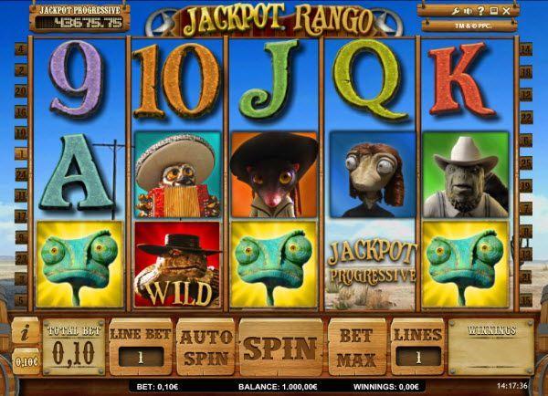 Jackpot Rango slots